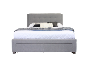 ARIANA DOUBLE BED FRAME WITH 4 DRAWERS