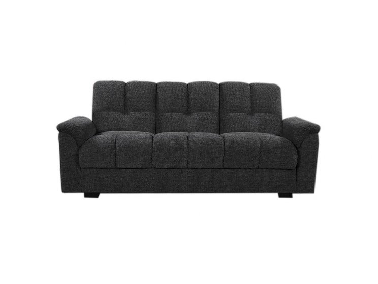 Cameron 3 Seater Sofa Bed Dark Grey