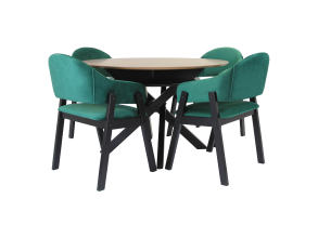 CASPER 5 PIECE 120 DINING SUITE
