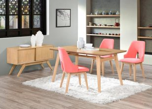 CASSANDRA 5 PIECE 150 DINING SUITE