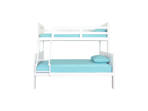 GRACIE TWIN SINGLE OVER DOUBLE BUNK BED FRAME