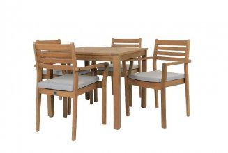 JONAS 5 PIECE OUTDOOR DINING SET