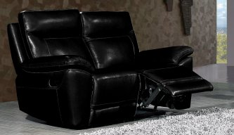 Lorde 2 Seater Electric Recliner Black
