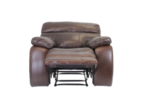 MASON RECLINER LOUNGE SUITE, BROWN