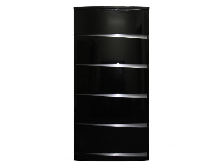 New Amelia Tallboy High Gloss Black