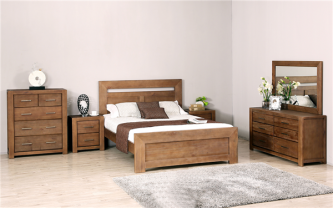 PAIM 6 PIECE KING BEDROOM SUITE