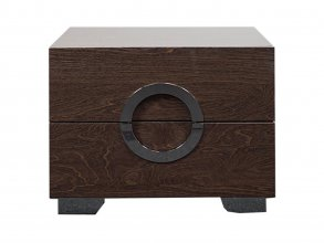 Skyler Bedside Table Walnut