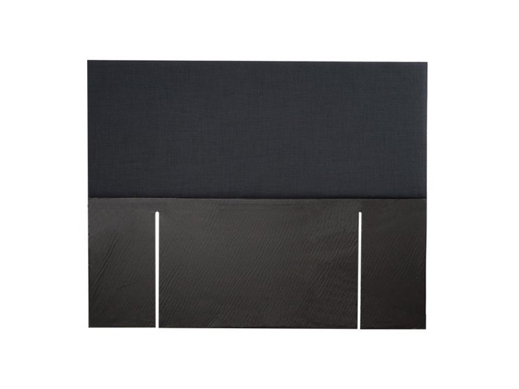 Sleepwell Queen Fullboard Headboard Black