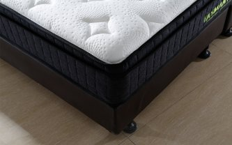 TASMAN PARK SUPER KING MATTRESS AND BASE